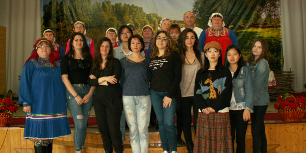Преподаватель Университета г. Салерно (Италия) Джузеппина Джулиано прочитала цикл лекций на факультете иностранных языков
