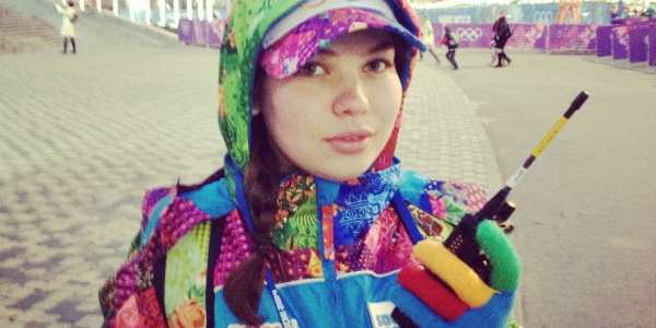О волонтерской работе на Олимпийских играх в Сочи