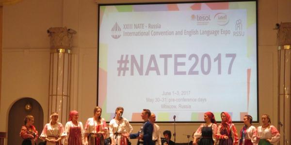 30 мая — 3 июня 2017 г. проходила XXIII научно-практическая конференция Национальной Ассоциации преподавателей английского языка (NATE)