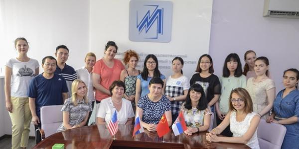 В Мордовском университете стартовала языковая школа для изучающих русский язык иностранцев
