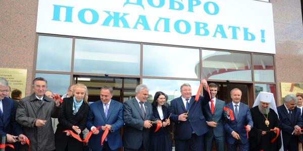 15 сентября 2016 года открыт новый Главный корпус МГУ им. Н. П. Огарёва, в котором расположится факультет иностранных языков