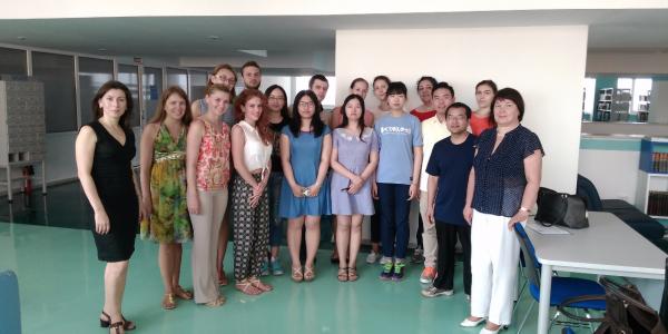 Завершилась работа Летней школы «Русский язык для иностранцев…» на ФИЯ