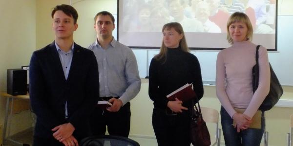 24 ноября 2016 г. состоялась встреча студентов ФИЯ с представителями круизной компании «ВодоходЪ»