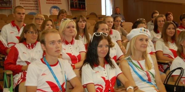 Волонтёры ФИЯ на Универсиаде 2013