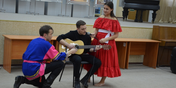 30 ноября 2018 г. ФИЯ представил «Иностранный колорит»