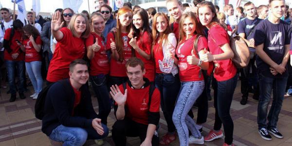 Парад студенчества 2017