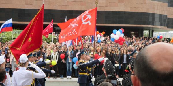 9 мая 2017 г. коллектив МГУ им. Н. П. Огарёва принял участие в торжественных мероприятиях, посвященных 72-й годовщине Победы в Великой Отечественной войне