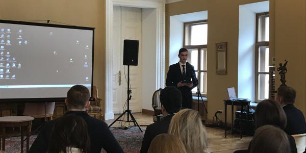 Встреча студентов и преподавателей ФИЯ с Послом Греции в Российской Федерации