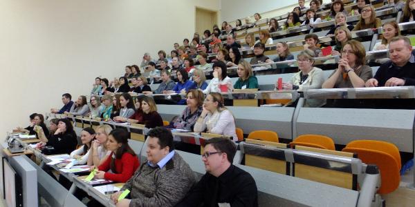 5-7 декабря 2016 г. ФИЯ проводил Всероссийскую научно-практическую конференцию «Интегрированный подход в преподавании английского языка для неязыковых специальностей»