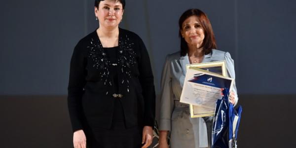 Поздравляем Е. Д. Пахмутову с победой в конкурсе педагогического мастерства!