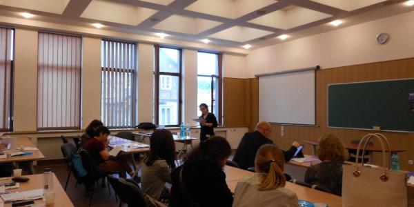 Реализация программы международных академических обменов ФИЯ: стажировка представителей факультета в Университете Трансильвании (Румыния)