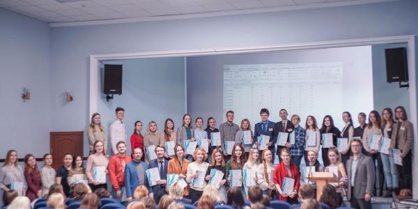 Поздравляем призёров конкурса устного и письменного перевода!