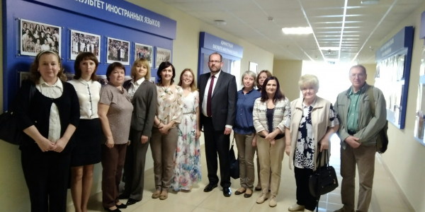 15 мая 2018 г. ФИЯ посетил сотрудник Посольства ФРГ г-н Карстен Манке