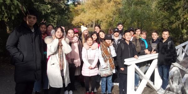 Иностранные студенты ФИЯ посетили с экскурсией Болдино