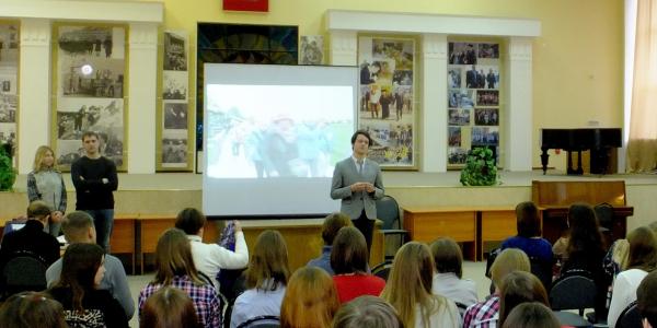 Встреча студентов ФИЯ с представителями компании «Водоходъ»