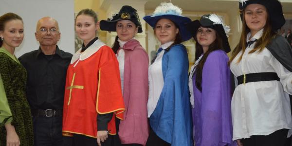 8 ноября на факультете иностранных языков прошли традиционные «Дни французского языка и культуры»