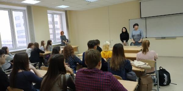 4 марта 2019 г. состоялась встреча студентов ФИЯ с переводчиком Ю. С. Шишкановой